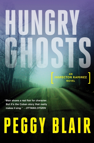 Blair__Hungry Ghosts__Front cover