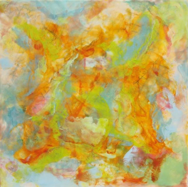 Patricia Dusman painting